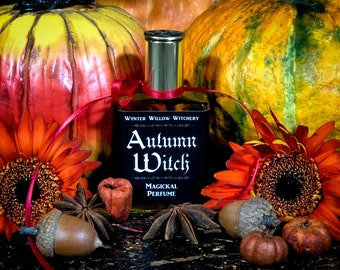 Wear The Season With Autumn Witch Magickal Perfume Infused With Crystal. 2021 Batch #5 October