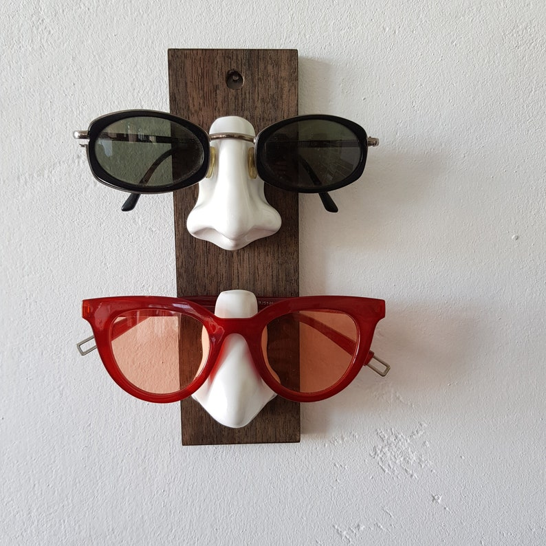 Display for glasses Sunglasses holder for wall Wall organizer image 0