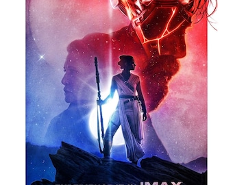 """Movie Collector/'s Poster Print Star Wars 11/"""" x 17/"""" The Rise of Skywalker"""