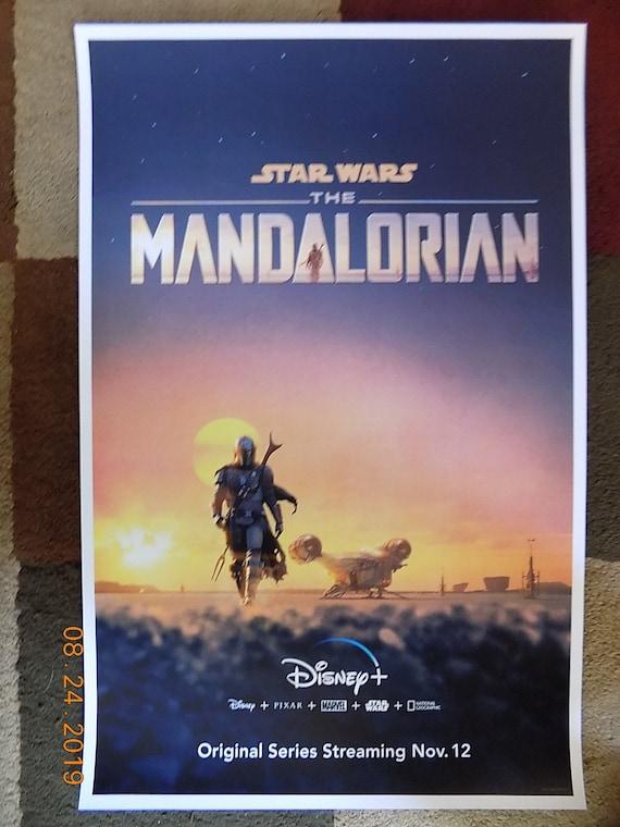 "The Mandalorian Movie Collector/'s Poster Print DISNEY STAR WARS 11"" X 17"""