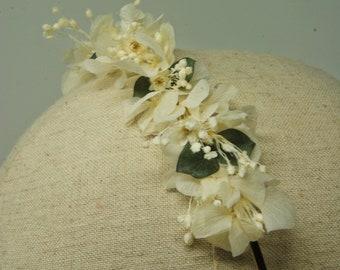 Flowered tiara D14