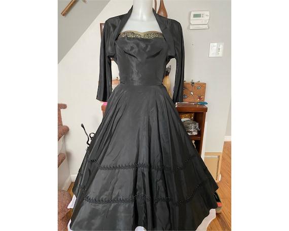 Vintage 1940's Marjorie Montgomery evening gown