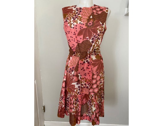 Vintage Betty Hartford Mod shift dress