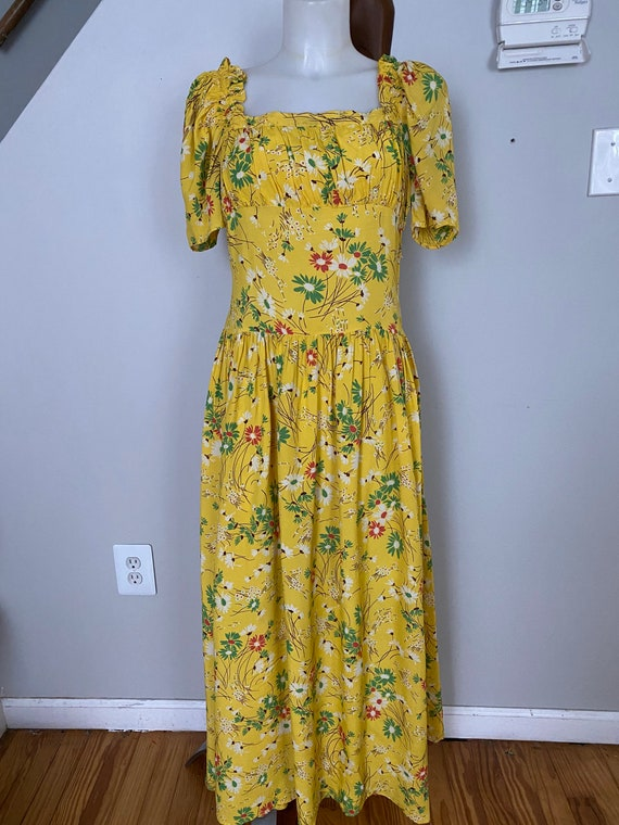 Vintage 1930's Daisy Gown - image 2