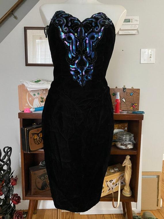 Vintage 1980's Gunne Sax dress - image 3