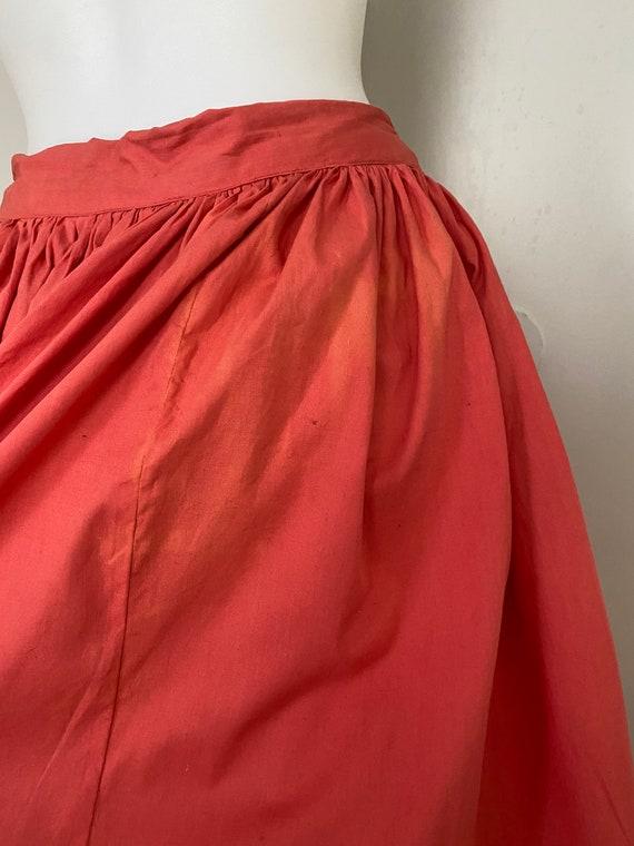 Vintage Dutch novelty print skirt - image 8