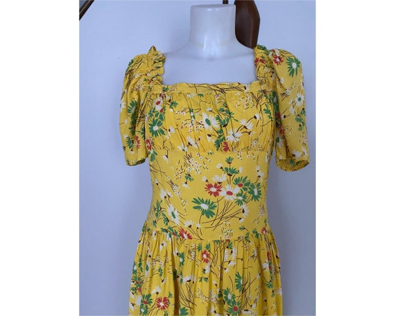 Vintage 1930's Daisy Gown - image 1
