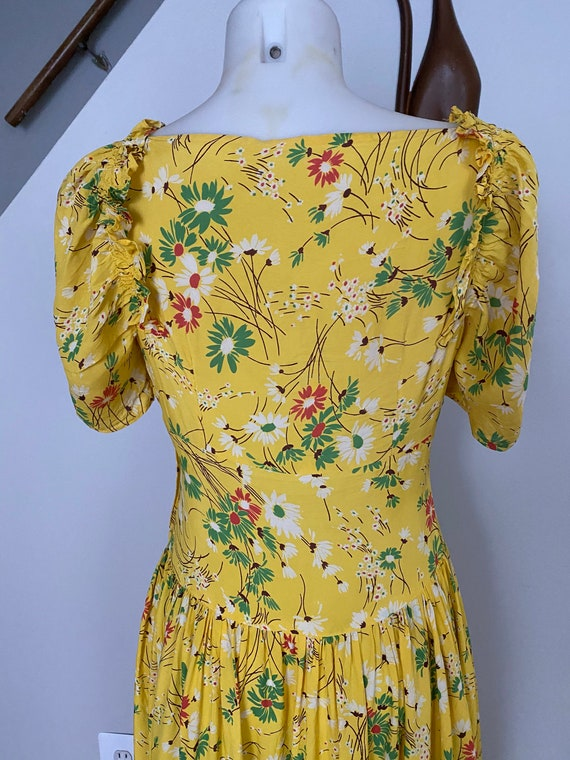 Vintage 1930's Daisy Gown - image 7