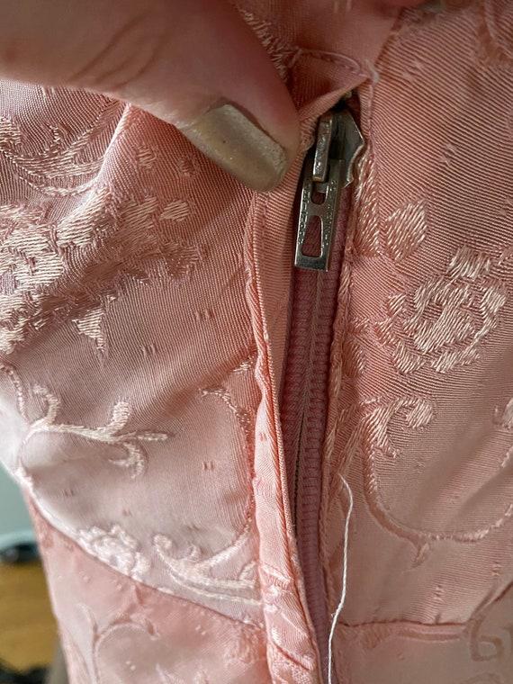 Vintage Late 30's dress and crop jacket set - image 7
