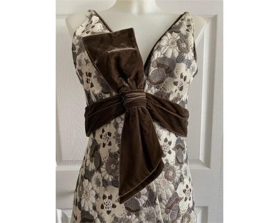 Vintage 1960's Travilla evening gown