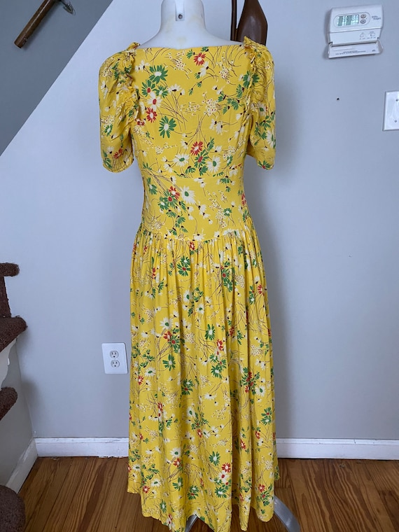 Vintage 1930's Daisy Gown - image 4