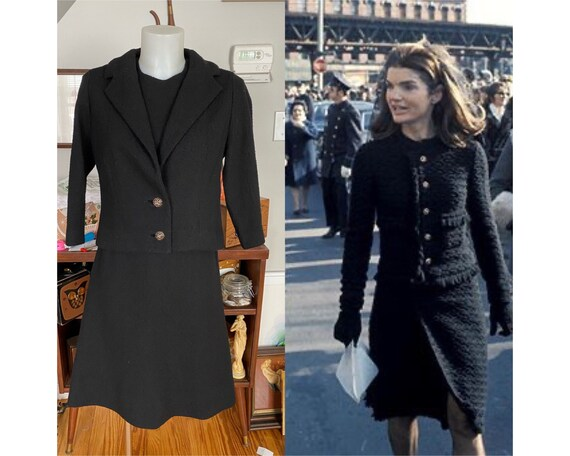 Vintage Madiera Knits suit dress
