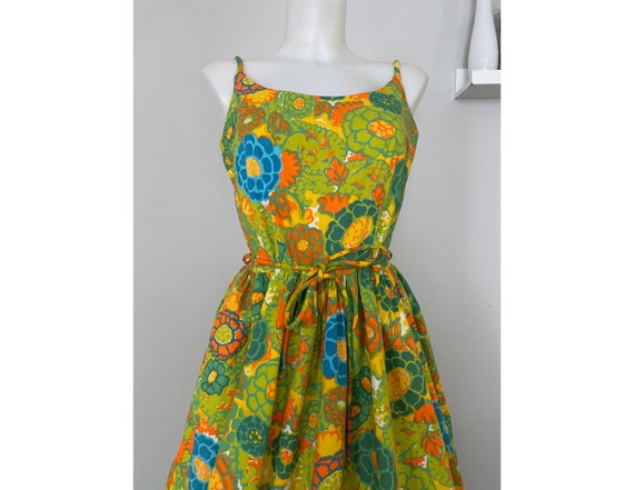 Vintage early 60's floral sundress