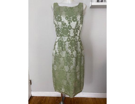 Vintage 1950s wiggle dress