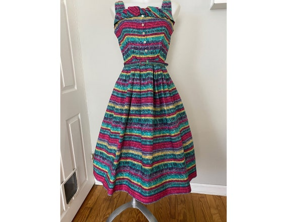 Vintage 50's/60's cotton sundress