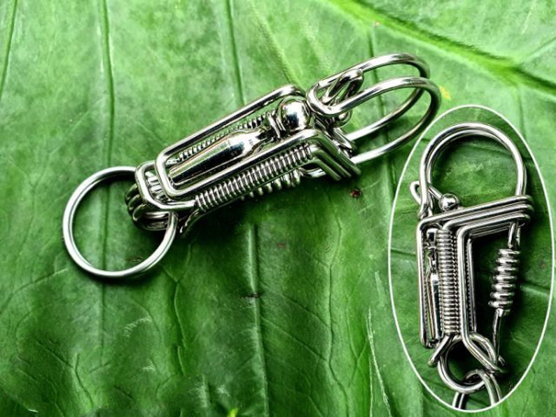 handmade keychain,ctoom key chain for men,handmade wire wrapped keychain,Personalized custom keychains with 10 different styles to your like