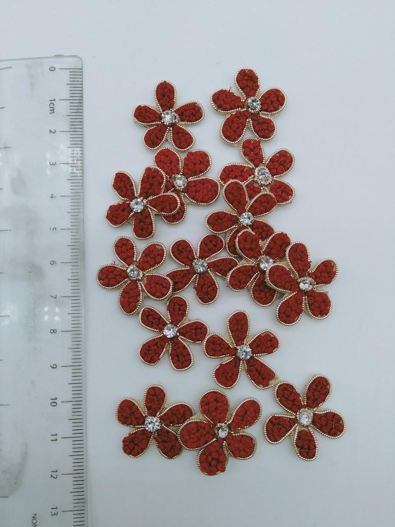 Flower Applique Patch Sewing Badla Applique Accessories Dress Appliques Crafts Handcrafted Appliques Scrapbooking Applique