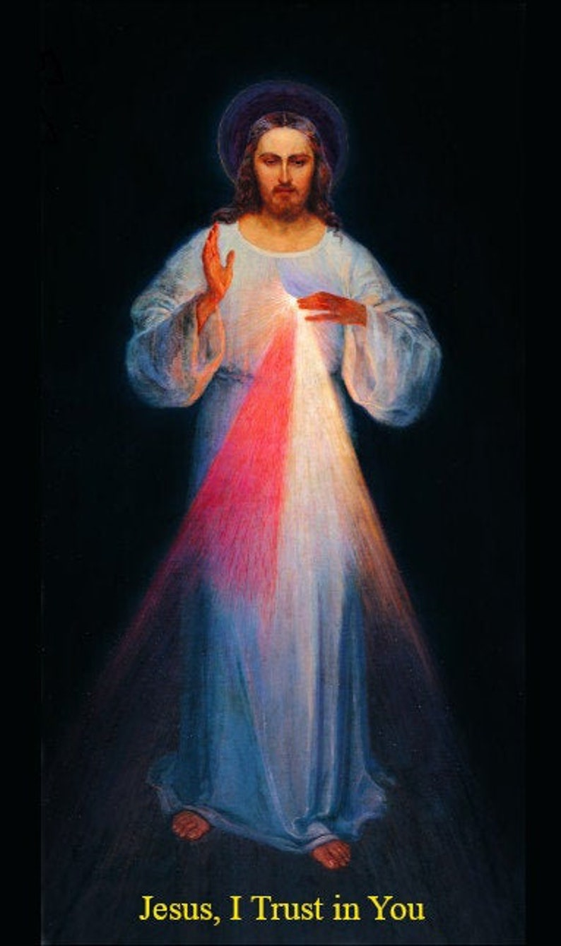 Divine Mercy Images  Jesus I Trust in You