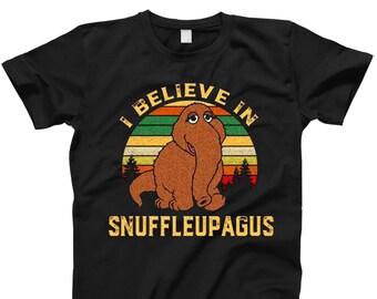 eee8e83946bf Mr Snuffleupagus I Believe In Snuffleupagus Men T Shirt Inspiration T Shirt  Red T Shirt Work T Shirt Summer T Shirt