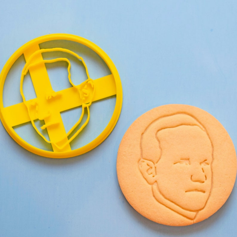 Calvin Coolidge Cookie Cutter image 0