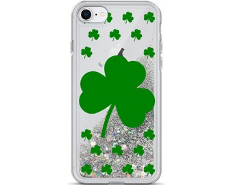 A Shamrock Field for St Patrick's Day iphone 11 case