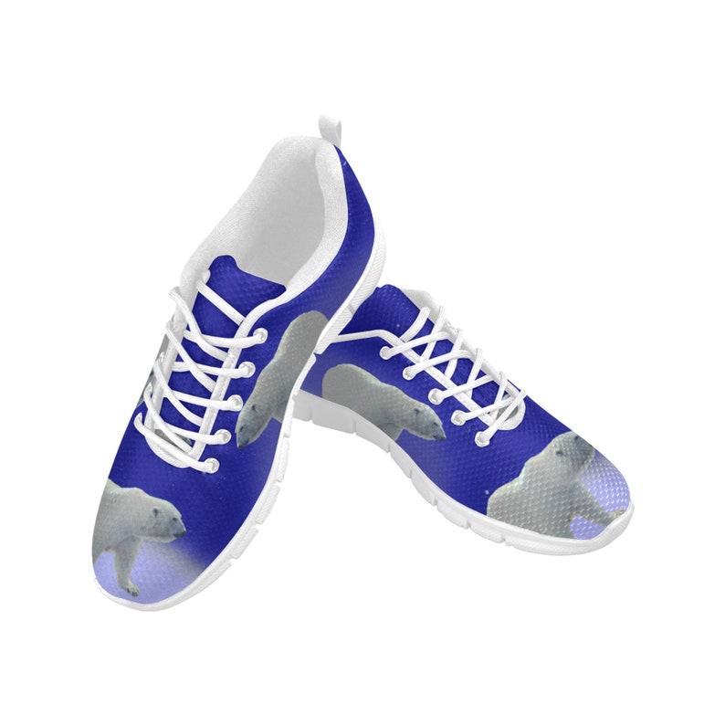 Women/'s Breathable Sneakers Sneakers with polar bear Printed sneakers Funky sneakers Modern sneakers