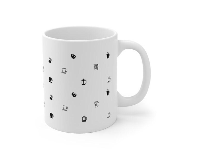 Coffee Mug  Ceramic Mug 11 oz 15 oz image 0