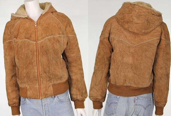 Women's 80s Vintage Bermans Fuax Fur Sherpa Fleece