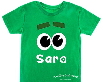 Storybot costume t-shirt for boys, girls and adults | Themed birthday party Storybot Robot | Customized Birthday Shirts | Custom Name number
