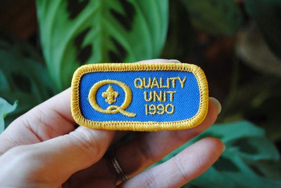 Vintage Quality Unit 1990 Patch - Scouts Patch - Boy Scout Emblem - Honor Award - BSA