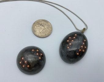 Orgone Pendant- Terminated quartz