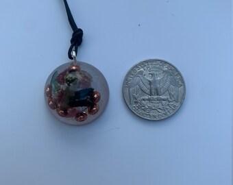 Orgone Pendant- Brazilian crystals