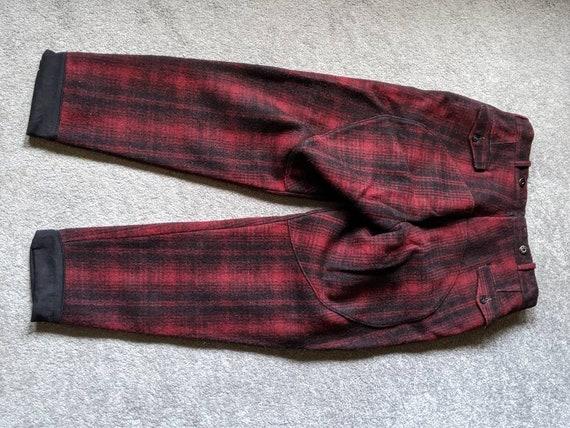 Vintage Woolrich Red/Black Hunting Pants