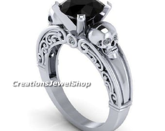 Gothic Wedding Rings.Gothic Wedding Rings Etsy