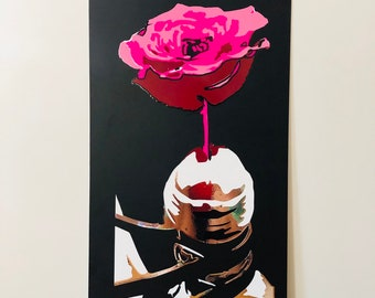 Blossom - ART - Vinyl on metal