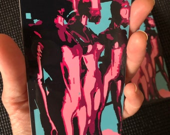 FemDom Art Sticker