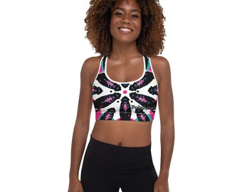 Hankey's Hex Padded Sports Bra