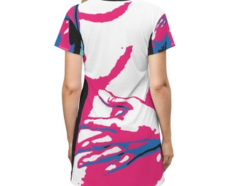 Being Annie Art T-shirt Dress