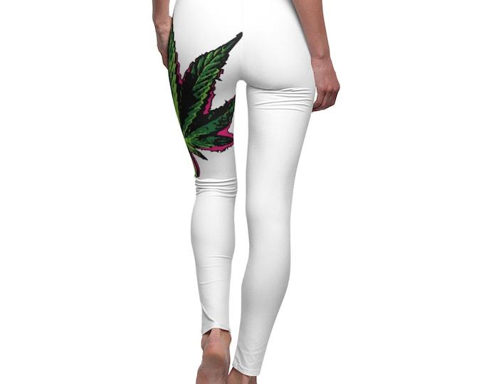 Cannabis Leaf Leggings