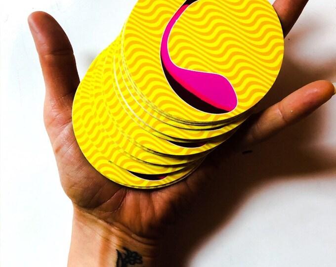 Sex Toy Art Sticker