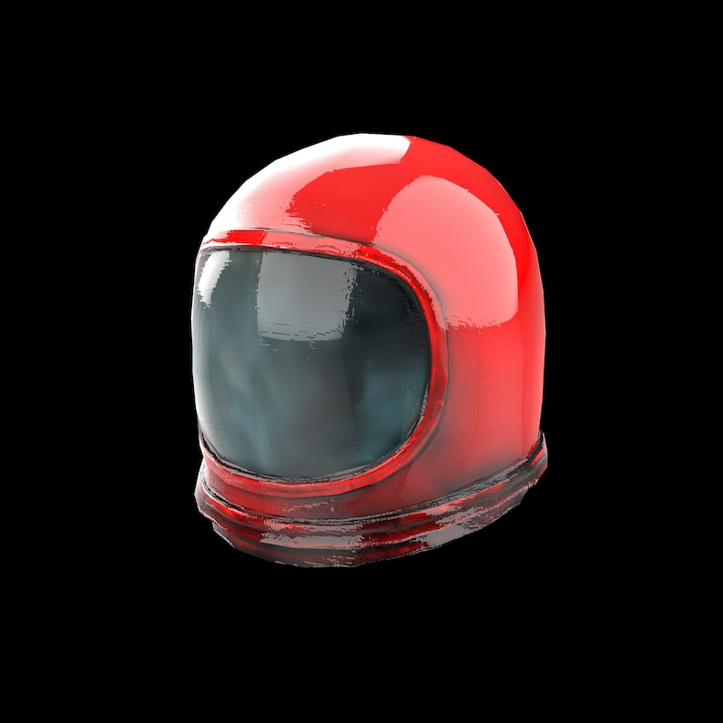 Among Us Crewmate Imposter Astronaut Space Wearable helmet ...