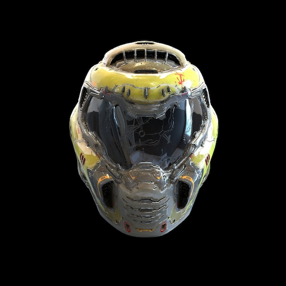 Doom Eternal Helmet Wearable 3d Model Stl Special Gift Etsy