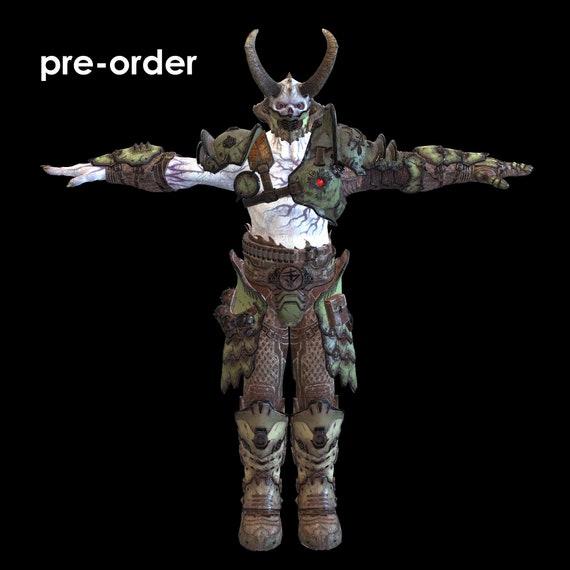 Doom Marauder Wearable Armor 3d Model Stl Special Gift Etsy