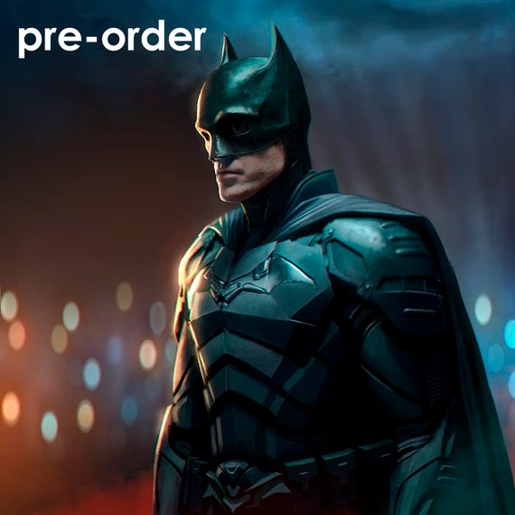 Batman 2021 armor for 3D print STLOBJ
