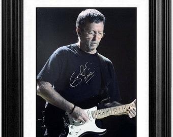 Music Stars Mark Knopfler Dire Straits Bass Picks encadr/és Affichage m/édiators