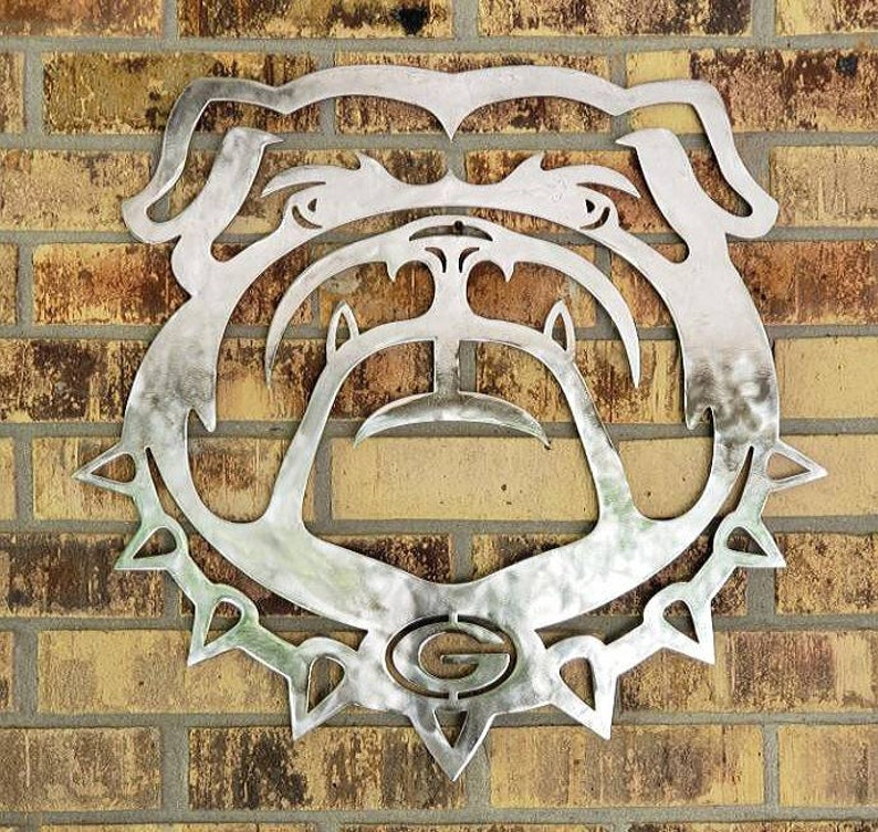 Georgia Bulldog Uga metal sign image 0
