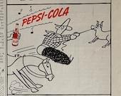 Vintage 1942 Pepsi Ad, WW2 Era