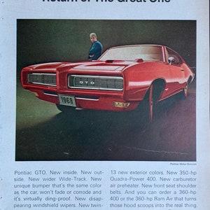 Original 1953 Pontiac Silver Streak Magazine Ad