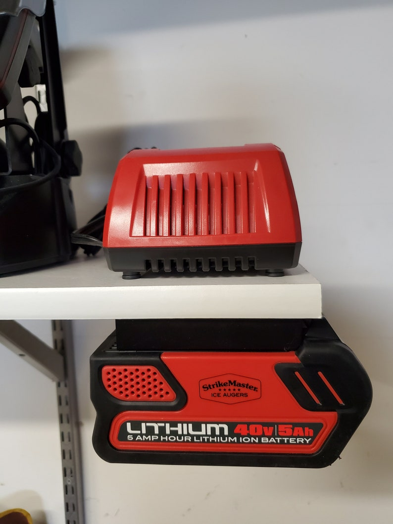 2-Pack: StrikeMaster Lithium 40v Battery Mount