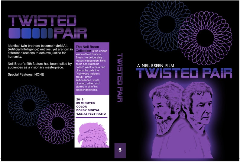 Neil Breen  Twisted Pair DVD  Rare Hard to Find image 0